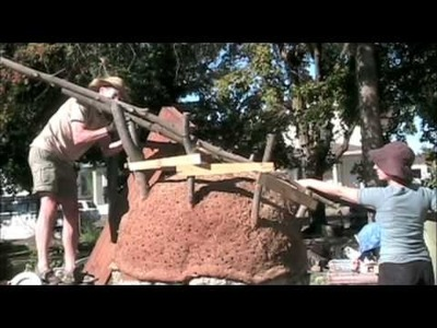 Building a Cob Oven at Riverfront Farm in Spokane, WA