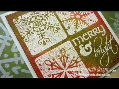 Christmas 2010 - Card No.4 Merry & Bright