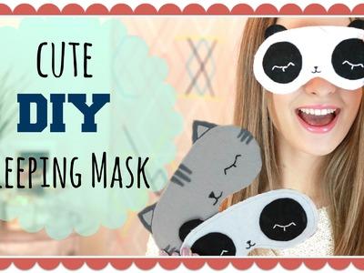 Cute DIY Sleeping Mask