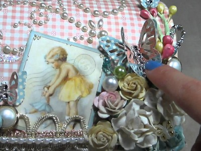 CUTE Shabby G45 Little Darlings Set: Altered MailBox SOLD
