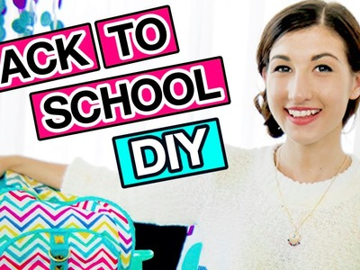 DIY Back To School Supplies With MayBaby! | Revved Up Rooms Ep 1