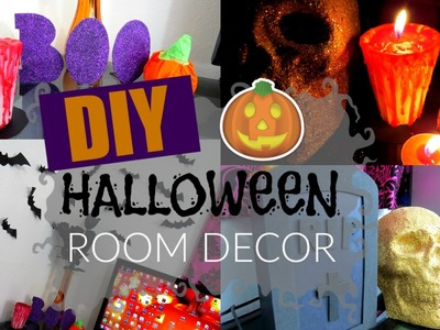 DIY HALLOWEEN ROOM DECOR. DECORA TU CUARTO PARA HALLOWEEN