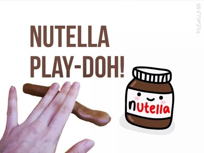 DIY:  How to Make Nutella Play-Doh