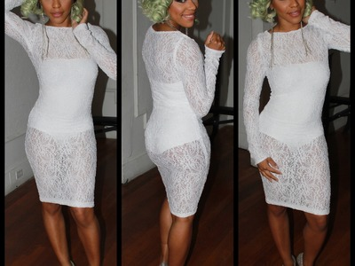 DIY: Lace Midi Dress