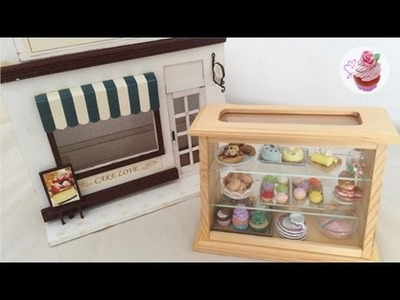 DIY: Miniature cake house & bakery