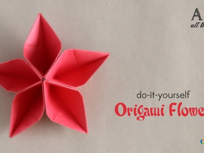 DIY: Origami Flower