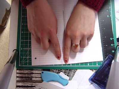 DIY Perforated Notebook for your Midori TN