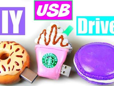 DIY: USB Drives! Starbucks, Donut & Macaron!