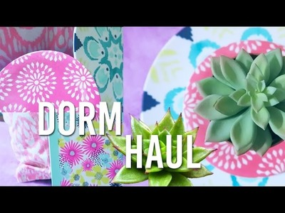 Dorm Room Homeware Haul | Tumblr Inspired | VS, Target, Thrift Store, Dollar Store
