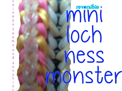 *EASY*Mini Loch Ness Monster Rainbow Loom Bracelet Tutorial