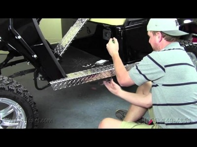 EZGO Diamond Plate Rocker Panels | How To Install Video | Installing a Rocker Panel