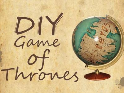 Game of Thrones Globe - DIY