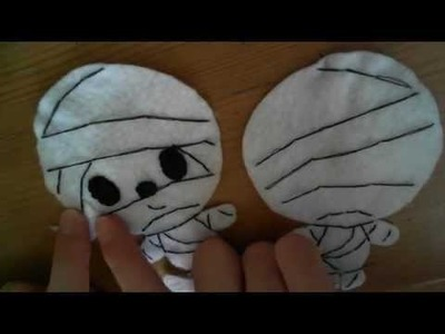 Halloween : How to Make a Kawaii Mummy Plush Tutorial