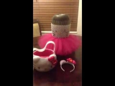 Hello Kitty Dress Tutu Costume