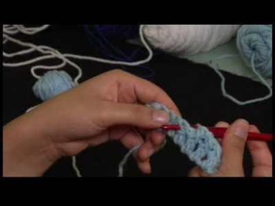 "How to Crochet a Basket Weave Pattern : Starting ""Across"" Section of Basket Weave Crochet Pattern"