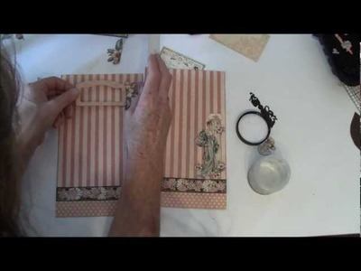 How to make a journal year book tutorial with A Ladies Diary part 12