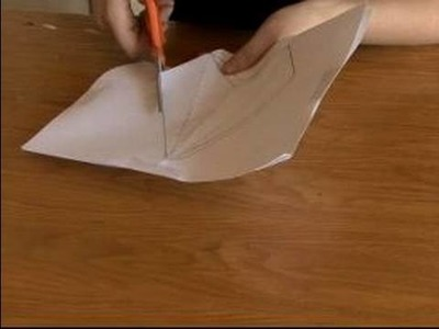 How to Make a Paper Star Lantern : Cutting Out Star Points for a Paper Lantern