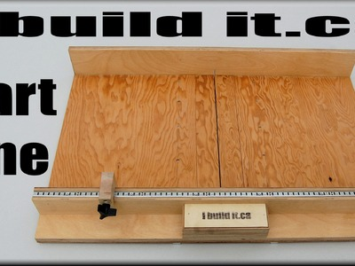 How To Make A Table Saw Sled Part 1