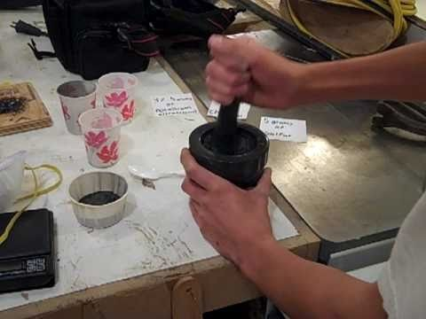 How to make black powder (without a ball mill)