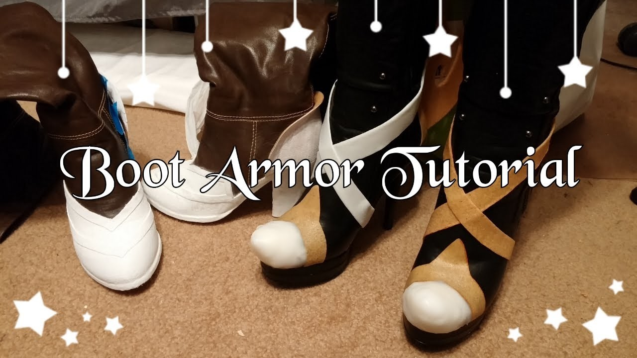 How to Make Boot.Shoe Armor with Worbla