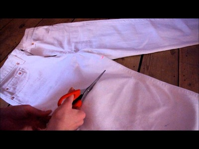 How to make high waisted shorts