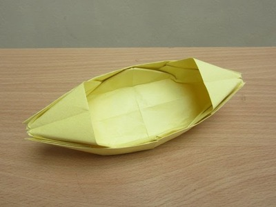 How to Make Paper Boat That Floats on Water - Easy Tutorials
