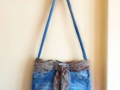 How To Recycled Old Jeans And Make ABag - DIY Style Tutorial - Guidecentral