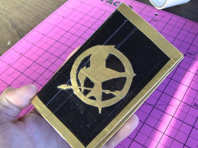 Hunger Games wallet time lapse