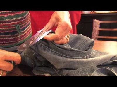 Jeans Fashion & Care : How to Patch Jeans