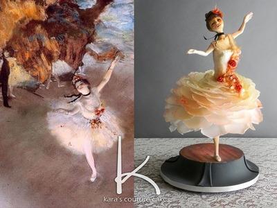 Kara's Couture Cakes - Timelapse Degas Airbrush
