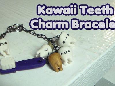 Kawaii Teeth Charm Bracelet - NewYearsResolution