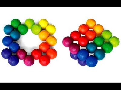 Million Shapes Rainbow Art Ball ~ Incredible Science