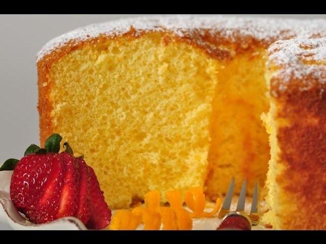 Orange Chiffon Cake Recipe Demonstration - Joyofbaking.com