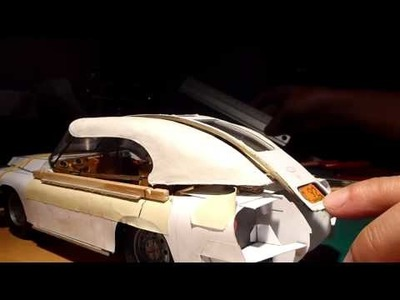Paper model car: Mohs Ostentatienne Opera Sedan