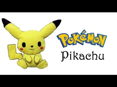 Pokemon: How To Make Pikachu Plushie Tutorial