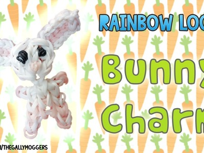 Rainbow Loom Tutorial: Bunny Charm or Rabbit Charm - How To