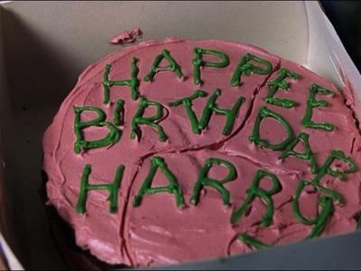 Recette gâteau d'anniversaire de Harry Potter. DIY Harry Potter birthday cake