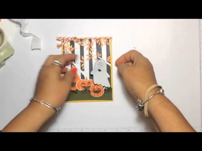 Stampin' Up! Video Tutorial Fun Fall Fest Halloween Card