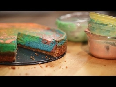 Tie-Dye Your Cheesecake For a Festive Easter Feast | Just Add Sugar