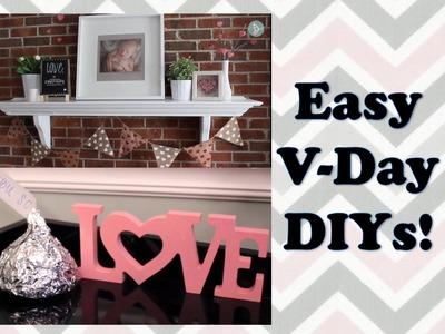 VALENTINE'S DAY DIYS | $5 Frugalista Friday Collab! 2015