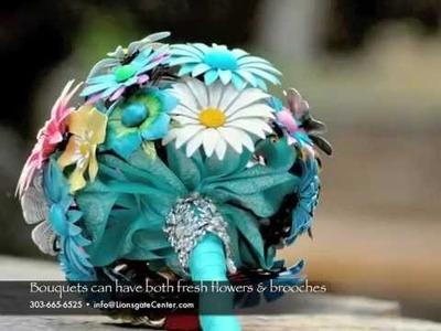 Wedding Brooch Bouquets by Lionsgate Designs