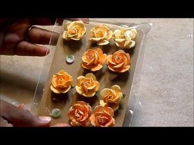 **5 FLOWER TUTORIALS** - PART 1