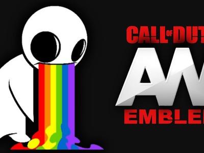 Advanced Warfare - Rainbow Puke - Emblem Tutorial Screetch2009