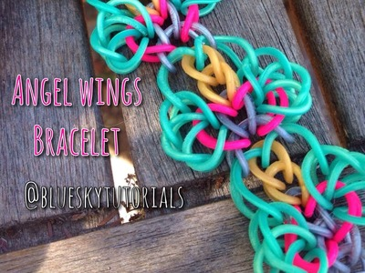 Angel wings bracelet tutorial | original design!!