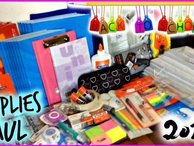Back to School: Supplies Haul 2015 | Beauty N Diy