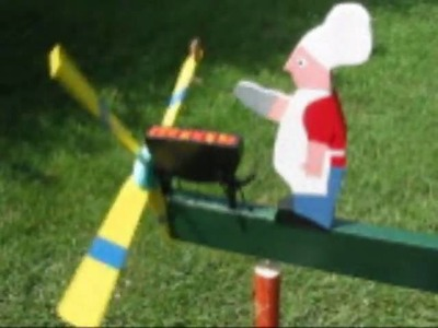 Barbecue Whirligig with Yummy Steaky