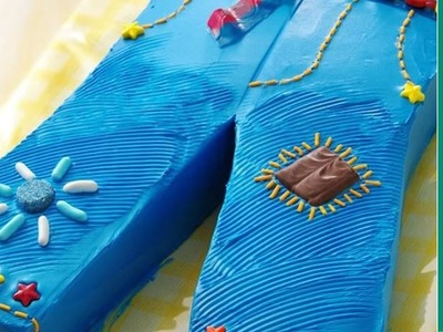 Birthday Cake Ideas: How to Make a Blue Jeans Birthday Cake
