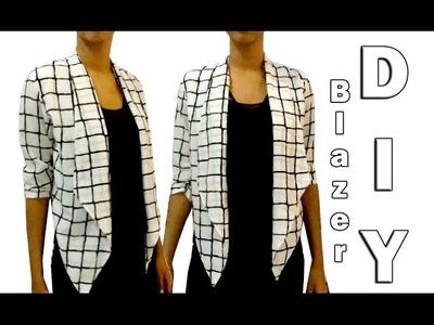 Blazer DIY (patrón gratis | free pattern)