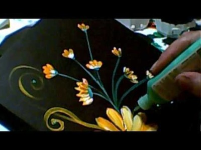 Daisy painting, Part 1 - Jennings644