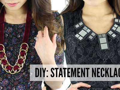 DIY: 3 Statement Necklaces!